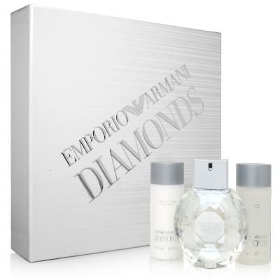 LOTE ARMANI DIAMONDS W.100 ML SPRAY+B.50ML+G.5